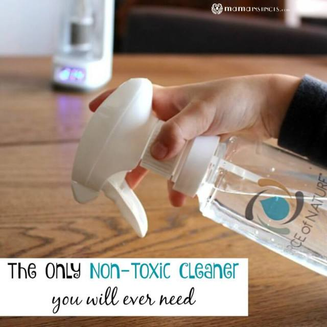 The Only Non-Toxic Cleaner You Will Ever Need
