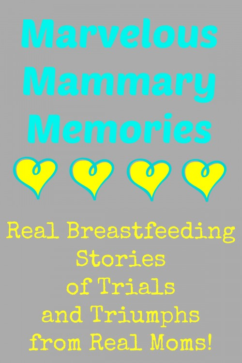 Real breastfeeding stories of trials and triumphs from real moms!