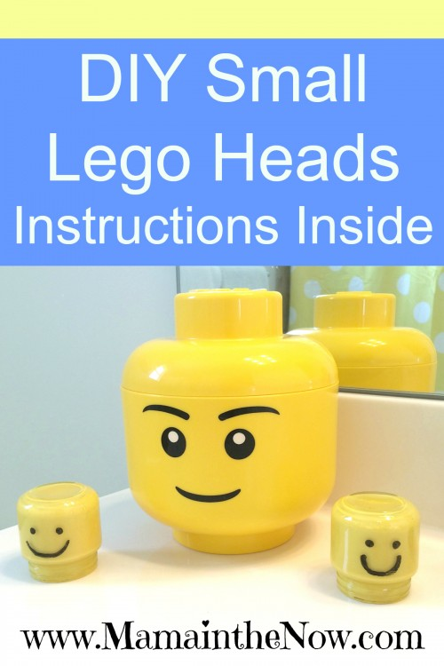 DIY Small Lego Heads