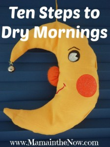 Ten Steps to Dry Mornings. End bed wetting with these practical tips from a mother of four
