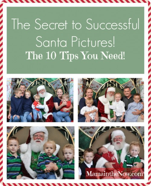 The Secret to Successful Santa Pictures! The 10 Tips You Need!