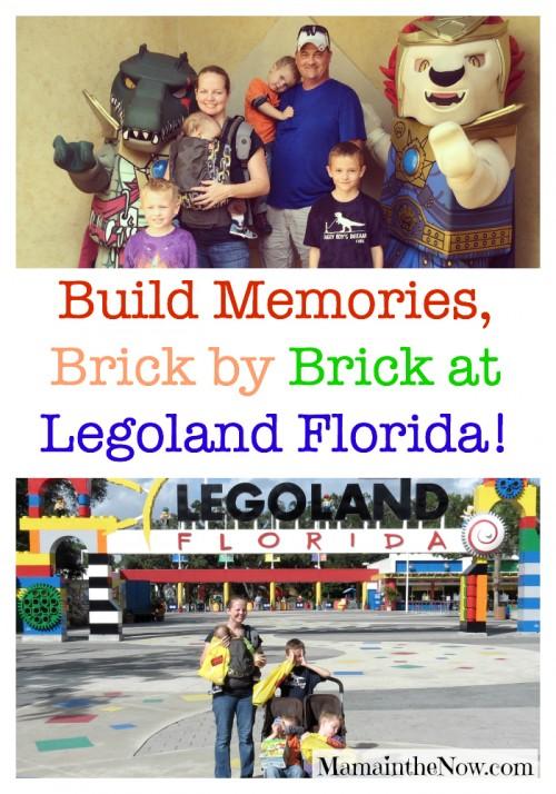 Build Memories Brick by Bricks at Legoland Florida