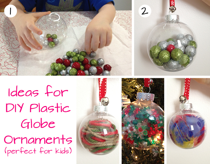 fun plastic globe ornaments for toddlers and preschoolers save diy christmas