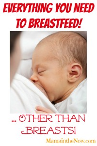 Everything You Need to Breastfeed! - Other than Breasts