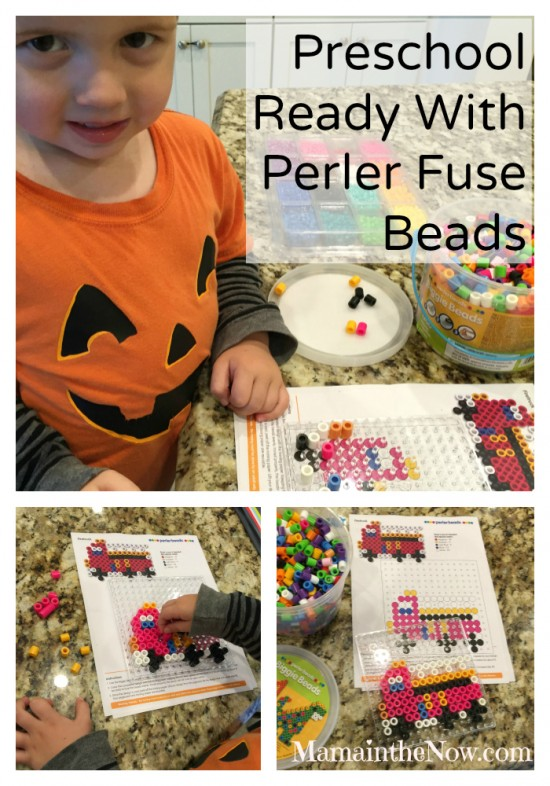 Preschool Ready with Perler Fuse Beads