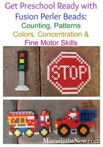 Get Preschool Ready with Fusion Perler Beads!