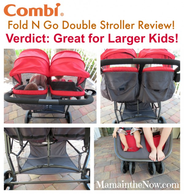 Combi Fold N Go Stroller Review. Great for Larger Kids!