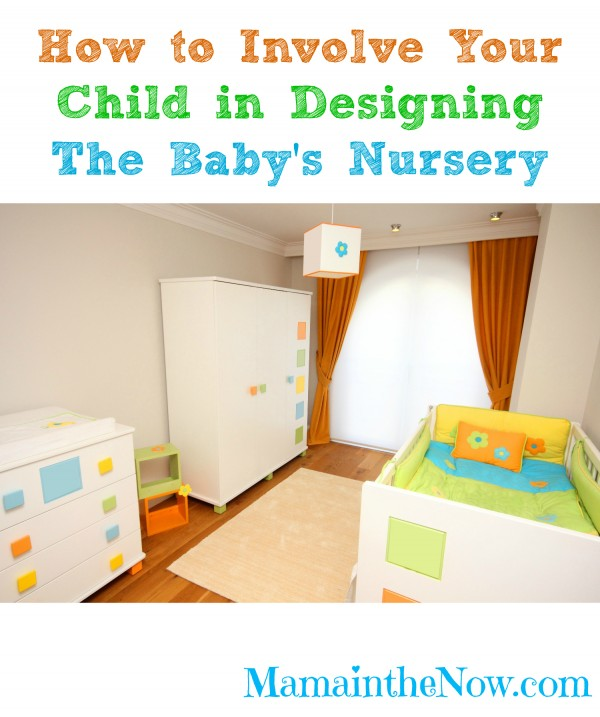 How to Involve Your Child in Designing the Baby's Nursery