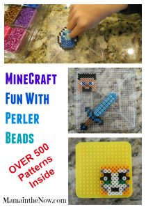 Over 500 Minecraft Perler Patterns Inside