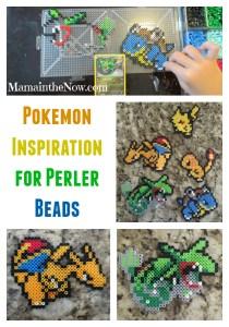 Pokemon Inspiration for Perler Beads