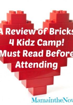 A Review of Bricks 4 Kidz Camp