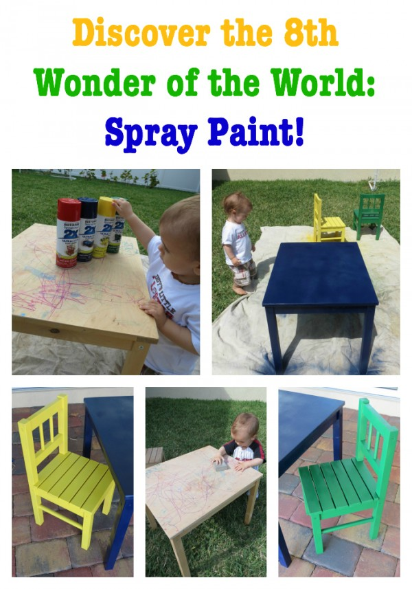 Discover the 8th Wonder of the World: Spray Paint