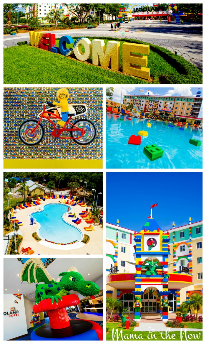 The Brand New LEGOLAND Hotel in Florida is stunning. Click this article to see more pictures - especially of the rooms!