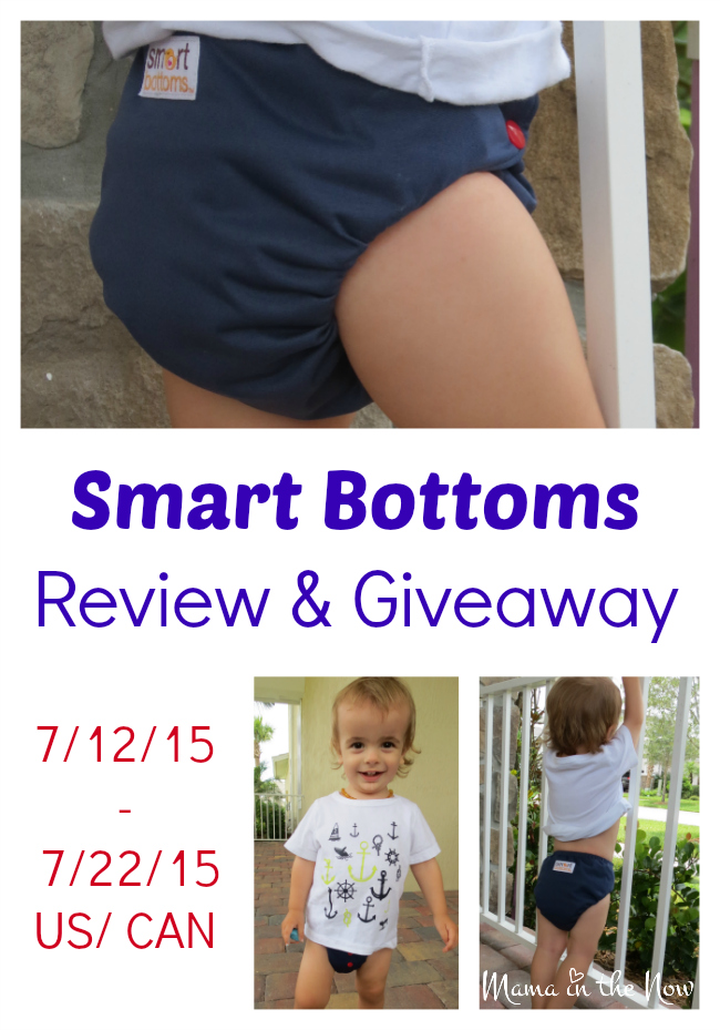 Smart Bottoms Review and Giveaway 7/12/15 - 7/22/15