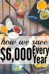 How we save $6000 every year