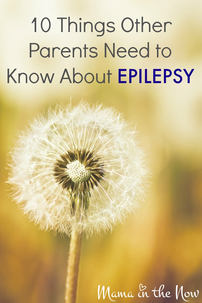 10 Things Other Parents Need to Know About Epilepsy. Find support and encouragement. Great resource for parents with newly diagnosed children.