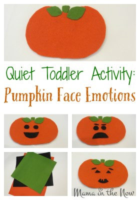 Quiet Toddler Activity, perfect for entertainment for the car, quiet time or while nursing a baby. Talk about feelings and teach empathy.