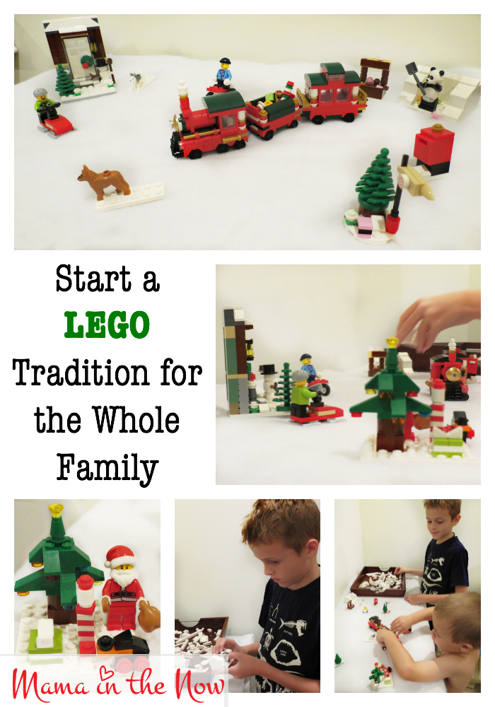Start a LEGO tradition for the whole family! This LEGO Christmas winter wonderland will grow and expand as the years go by - and the kids will LOVE setting it up each and every year! Put your LEGO Advent calendar to good use - for years to come!