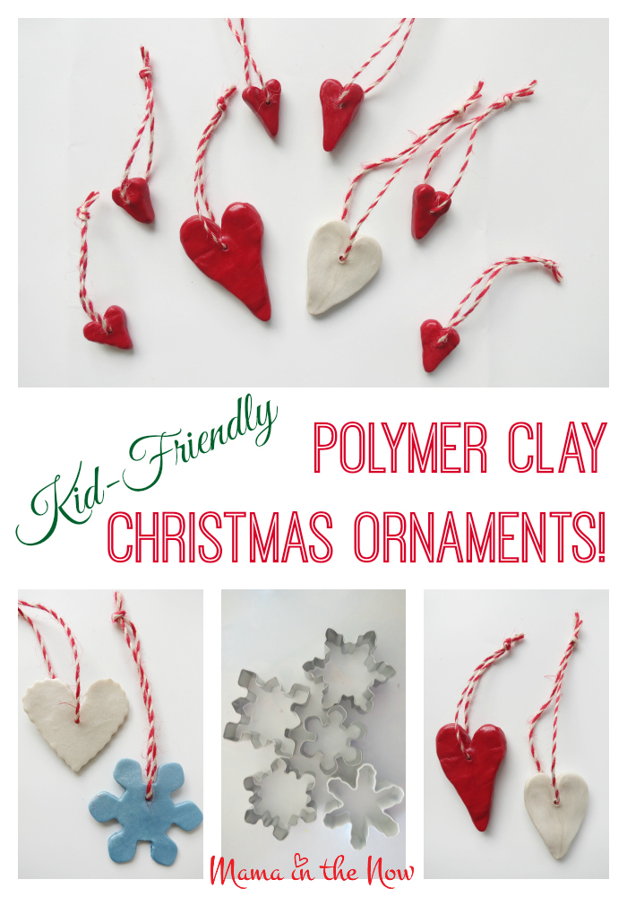 sculpey craft ideas kid friendly polymer clay ornaments 2889