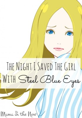 The Night I Saved The Girls With Steel Blue Eyes. An empowering and encouraging story of how one young woman broke free from an abusive relationship. Domestic violence victims, present and past will connect with this girl's brave journey. It took me 20 years to share my story!