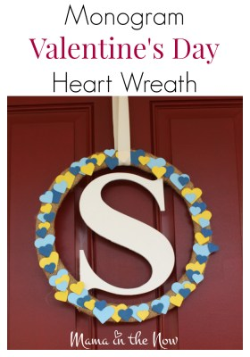 This monogram Valentine's Day heart wreath makes quite the statement piece on your front door. Perfect home decor through spring and beyond. Beautiful mantlepiece as well.