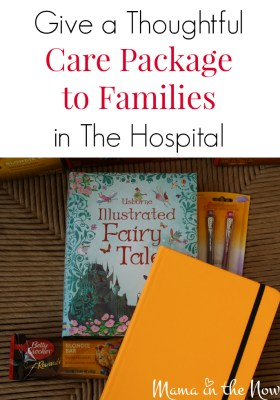 The 10 thoughtful things to put in a care package for parents with a sick child in the hospital. Medical moms will appreciate every item in this care package.
