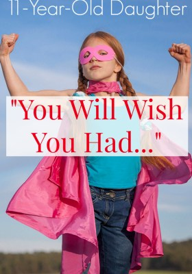 Letter to my eleven year old daughter - a beautiful encouraging and empowering letter. A must-read for mothers and daughters.