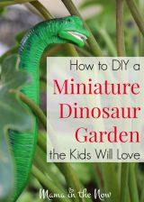 How to DIY a Miniature Dinosaur Garden the Kids Will Love