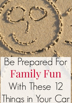 Be prepared for family summer fun with these 12 essential items in your car. Once your car is properly loaded, you can take an impulsive road trip, excursion or trip to the beach.