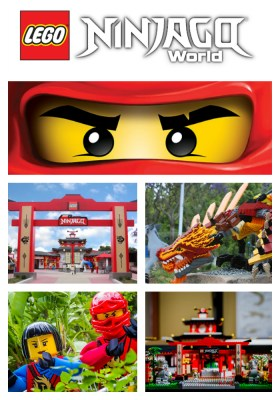 Don't miss the latest press release from LEGOLAND® Florida Resort - announcing the future opening of NINJAGO® World!
