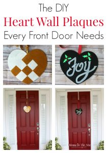 DIY wall plaques for the front door, over the mantel or to decorate the baby's nursery. Creative ideas to replace the Christmas wreath or to make a cute Valentine's Day decoration. Click for ideas and inspiration.