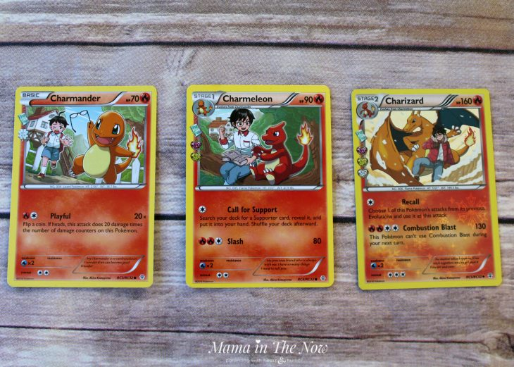 "Charmander evolution explained in ""the Parent's Guide to Pokemon Cards"". Everything parents need to know about playing and collecting Pokemon cards."
