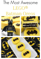 How to Make The Most Awesome LEGO® Batman Oreos