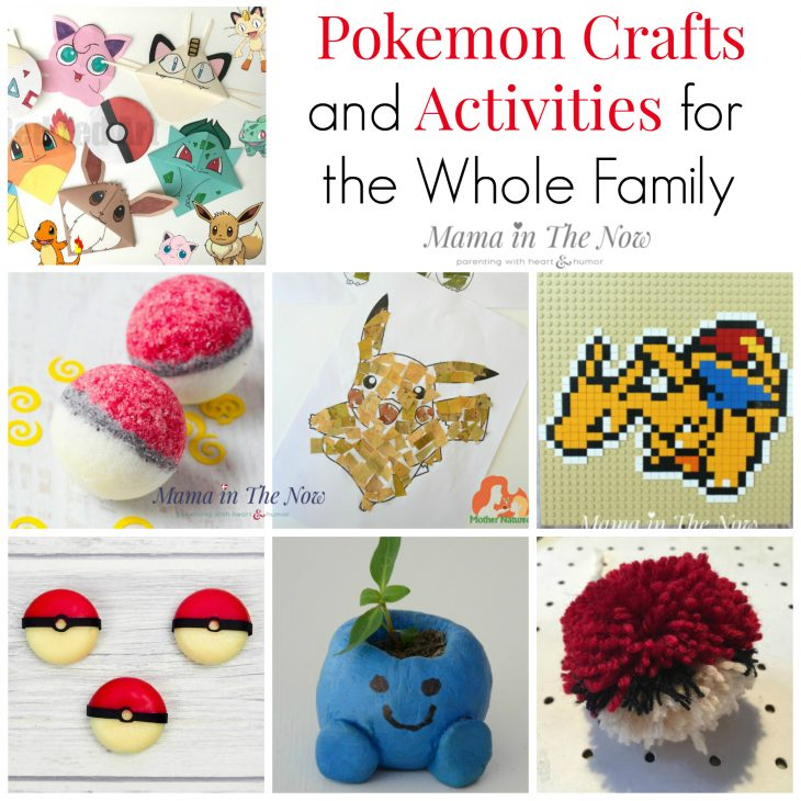 Pokemon fun for kids of all ages, preschoolers, tweens and teens - even fun DIY gifts for moms to make or receive. Learn with Pokemon, create with Pokemon and be creative with Pokemon - even Pokemon birthday favors.