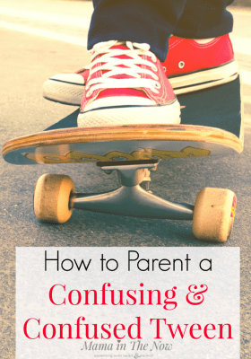 "Parenting tweens and teens is not for the faint of heart. Motherhood, parenthood changes when the kids become tweens. Small kids, small problems, big kids, big problems. Having ""the talk"" with your tween and teen. Parenting tips"