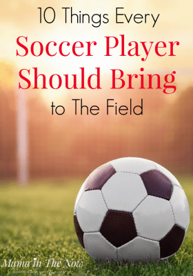 Whether you are a new soccer mom or a veteran soccer mom, this list tells you everything your kid needs to bring to every soccer practice and soccer game. Pack your child's soccer bag with confidence that they have everything they need to have fun and be a soccer success.