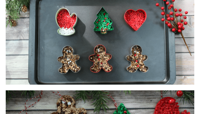 Easy Toddler-Approved Perler Bead Ornaments