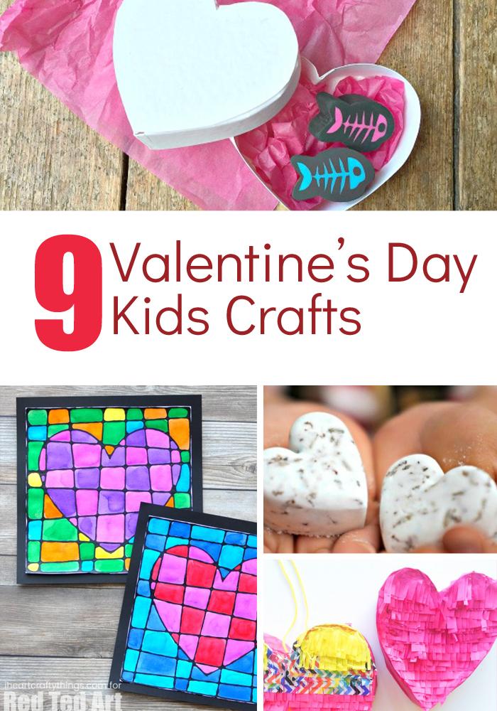 9 Valentines Day Kids Crafts