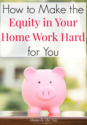 How to make the equity in your home work hard for you. Household money management. Family money management. Debt consolidation. Home equity financing with LendingTree. #MoneyManagement #Family #FamilyFinances #DebtConsolidation #HomeOwner #MamaintheNow