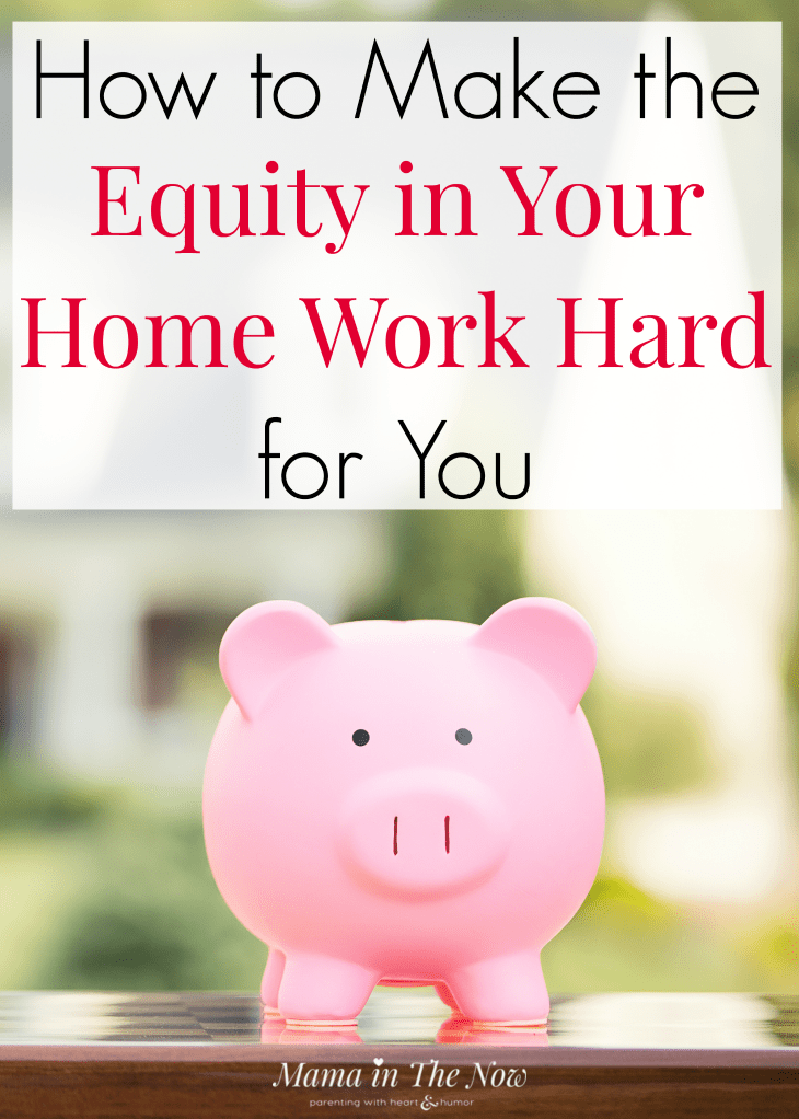 How to make the equity in your home work hard for you. How to make the home equity work for you! Household money management. Family money management. Debt consolidation. Home equity financing with LendingTree. #MoneyManagement #Family #FamilyFinances #DebtConsolidation #HomeOwner #MamaintheNow