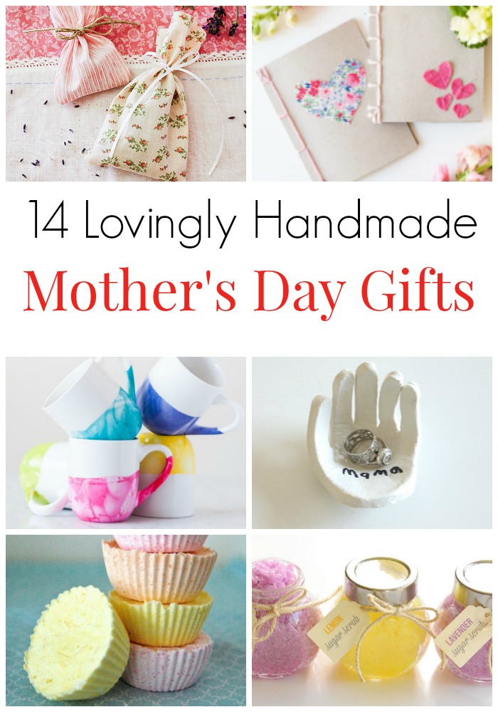 14 Lovingly Handmade Gifts For Mothers Day Sweet To Make Mom Surprise