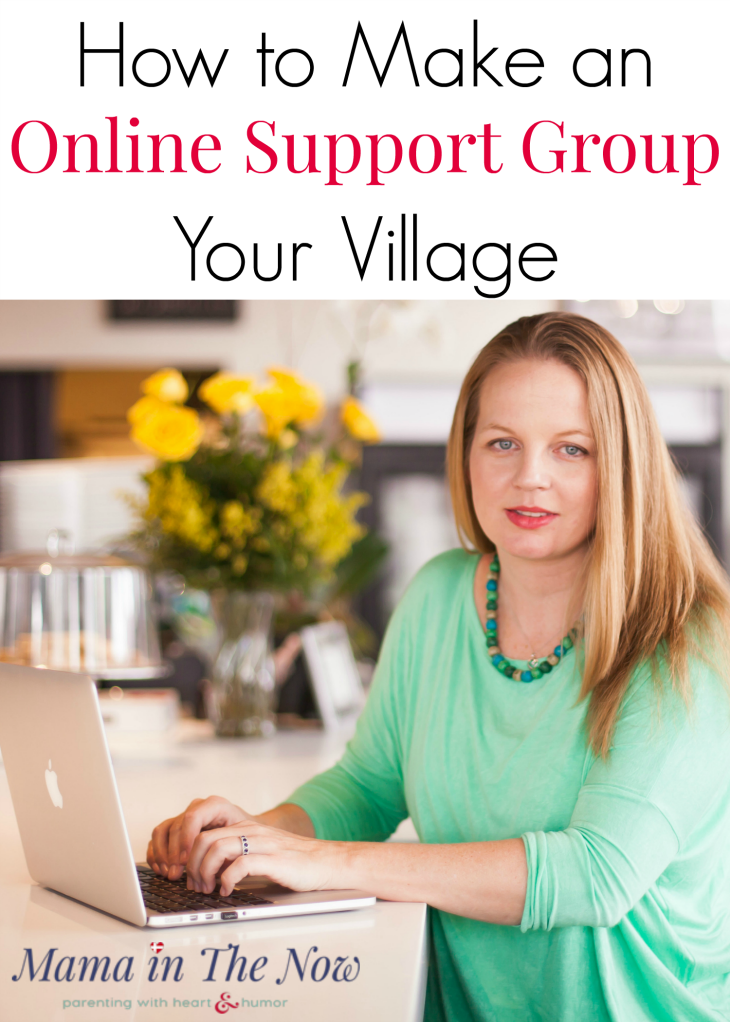 How to make online support groups your village. Learn how to navigate social media groups for special needs parents and medical moms. The online medical support groups can change your outlook on life - they did for me. #ShareFromHeart #HeartMom #AHA #MedicalMom #SpecialNeeds #SpecialNeedsParent #CHD #SpecialNeedsMom #MedicalMom #WarriorMom #ad