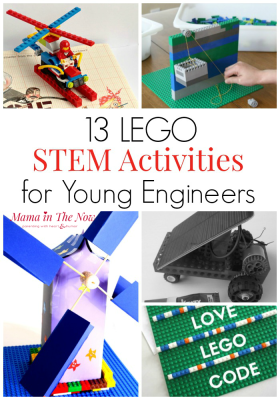 STEM Activities with LEGO. Learn math with LEGO, do science projects with LEGO, learn engineering with LEGO. STEM activities for young engineers. Learn with LEGO. #STEM #LEGO #Engineering #TeachingKids #TeachingChildren #LearningTools #LEGOMom #MamaintheNow #LearningActivities