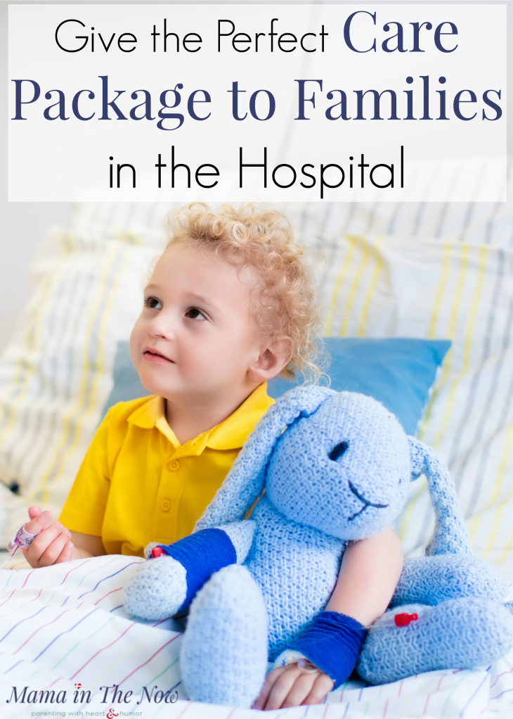 Support your friend in the hospital with a thoughtful care package. 10 things to put in the perfect care package for families in the hospital. Special needs families and medical families need the support. #CarePackage #Support #CarePackageIdeas #KindnessMatters #KidsintheHospital #mamainthenow