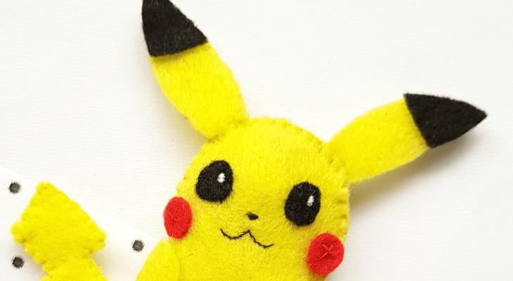 How to DIY an Adorable Pikachu Plush
