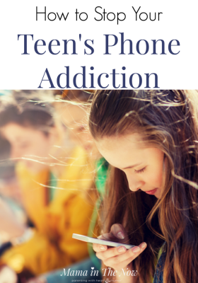 The struggle with teen phone addiction is real. Get tips to help your teen overcome their internet addiction. Teen parenting tips for balanced technology use. Tips for how to help your teen not to become addicted to the internet. Parenting teenagers tips. #ParentingTeens #ParentingTips #PhoneAddiction #InternetAddiction #ParentingAdvice #ParentingTeenswithTechnology #teensandtechnology #MamaintheNow