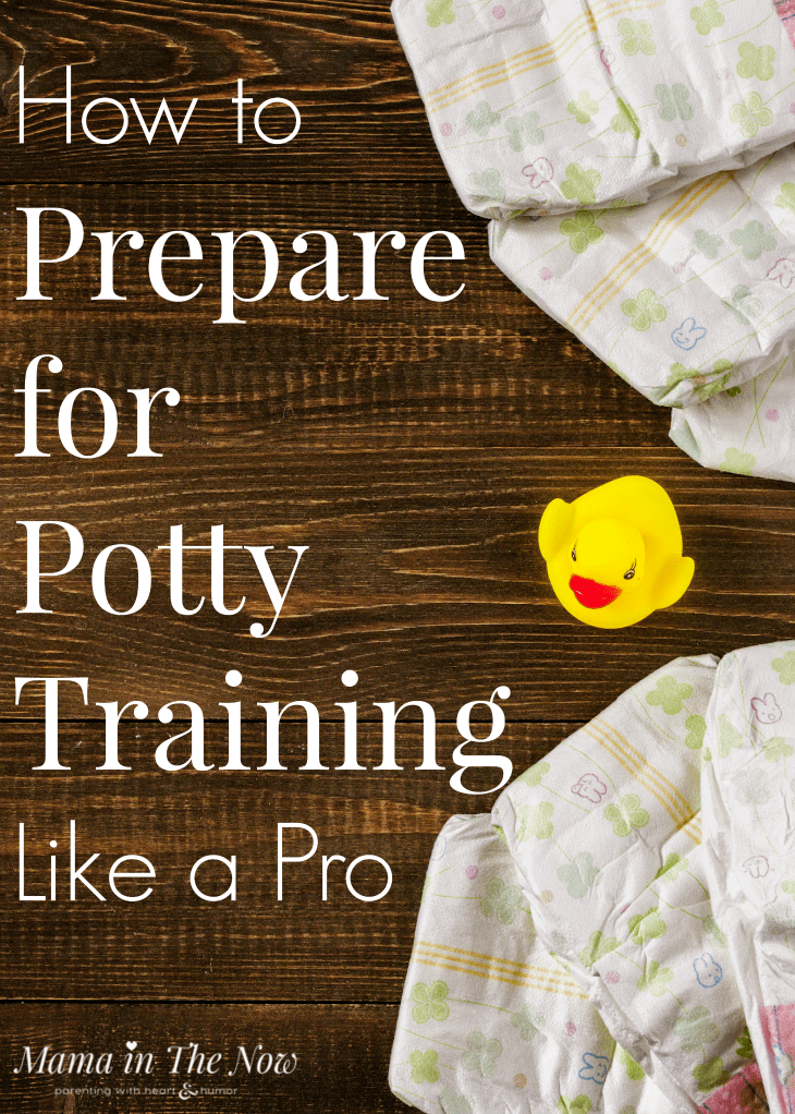 Potty training supplies for when you prepare for potty training