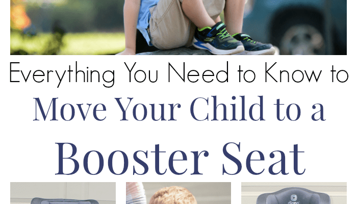 Everything You Need to Know to Move Your Child to a Booster Seat