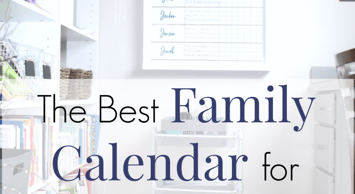 The Best Family Calendar Tips for Crazy Busy Families