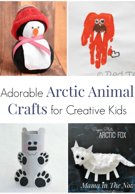 arctic animal crafts